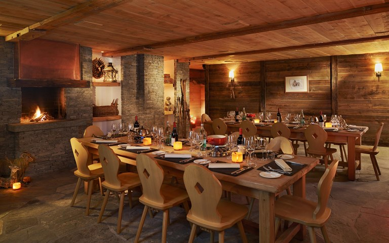 Carnotzet Authentic Swiss Rustic Restaurant Zermatt MCP Carnozet 08 16 New